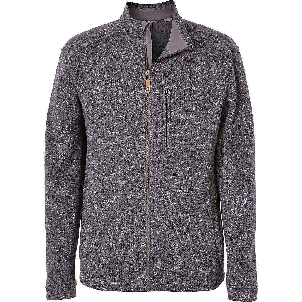Royal Robbins Mens Dolomites Sweater Fleece Jacket XXL - Pewter - Royal Robbins Mens Apparel - Apparel & Footwear, Men's Apparel