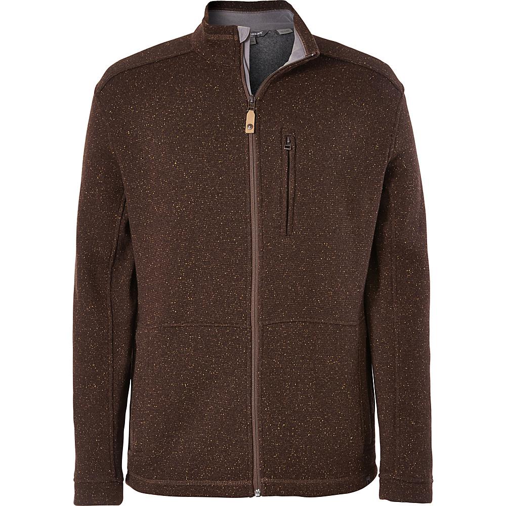 Royal Robbins Mens Dolomites Sweater Fleece Jacket S - Earth - Royal Robbins Mens Apparel - Apparel & Footwear, Men's Apparel