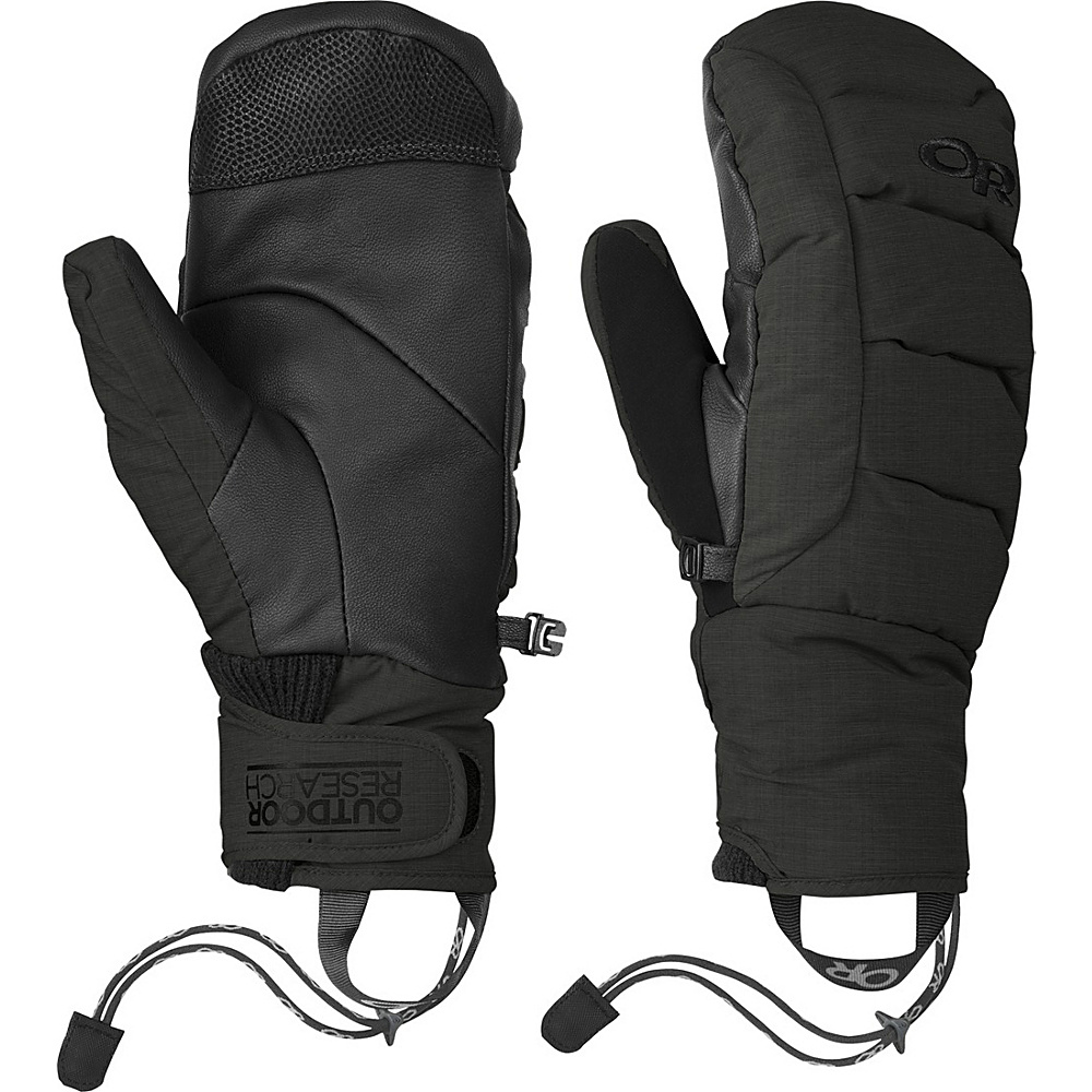 Outdoor Research Stormbound Mitts XS - Black - Outdoor Research Hats/Gloves/Scarves - Fashion Accessories, Hats/Gloves/Scarves