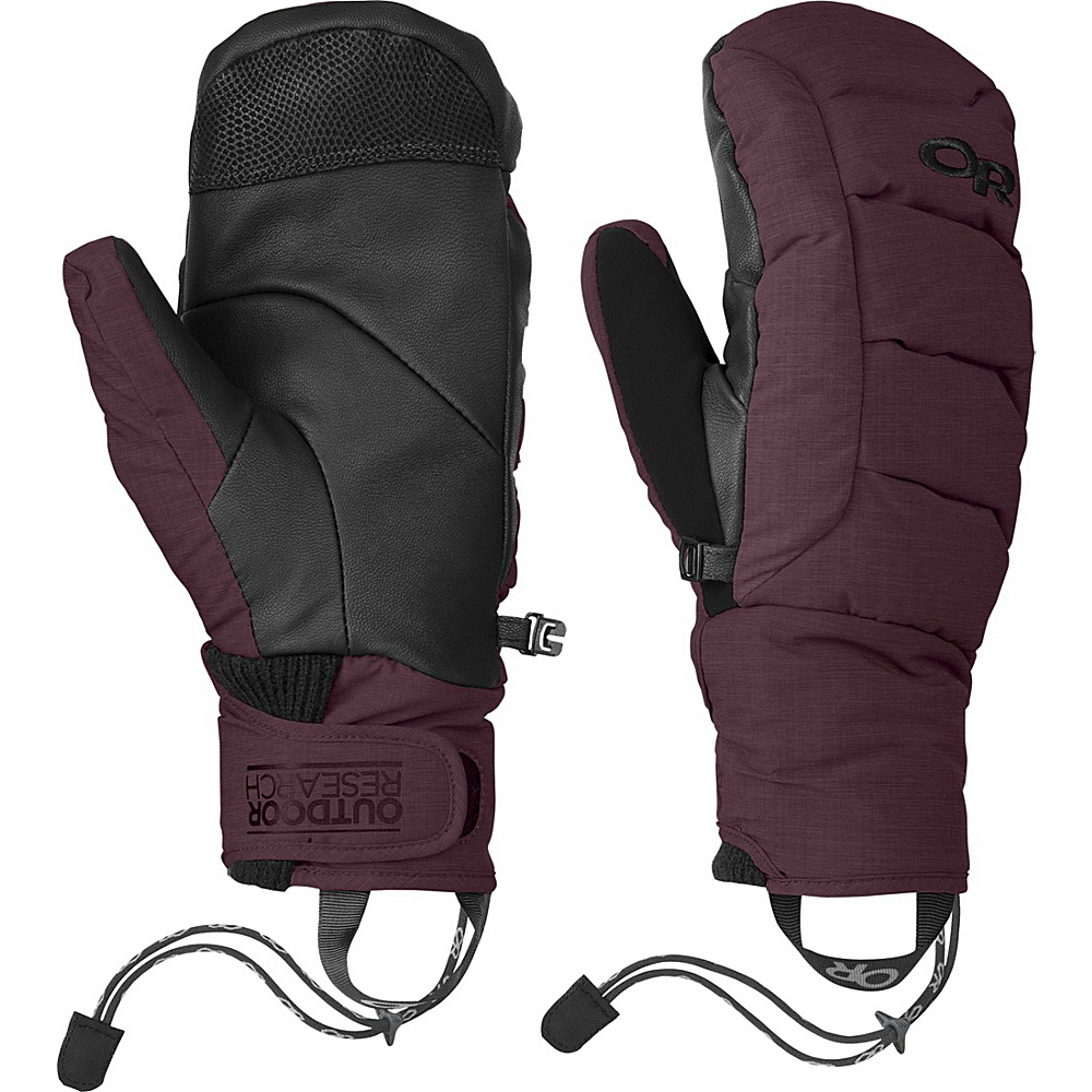 Outdoor Research Stormbound Mitts XS - Pinot - Outdoor Research Hats/Gloves/Scarves - Fashion Accessories, Hats/Gloves/Scarves