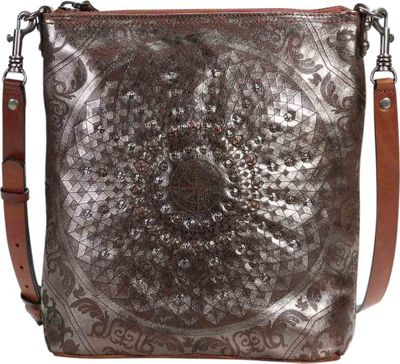 Old Trend Stars Align Crossbody Silver - Old Trend Leather Handbags