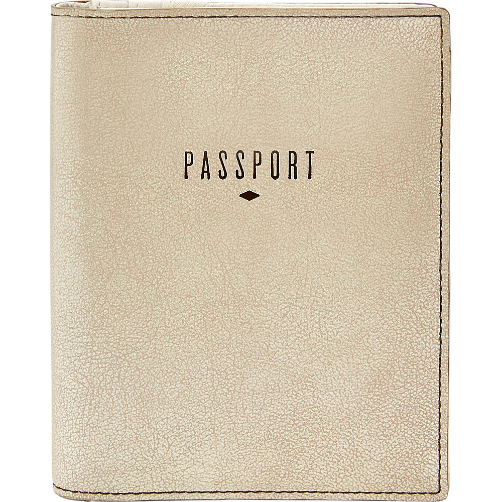 Fossil RFID Passport Case Gold - Fossil Travel Wallets - Travel Accessories, Travel Wallets