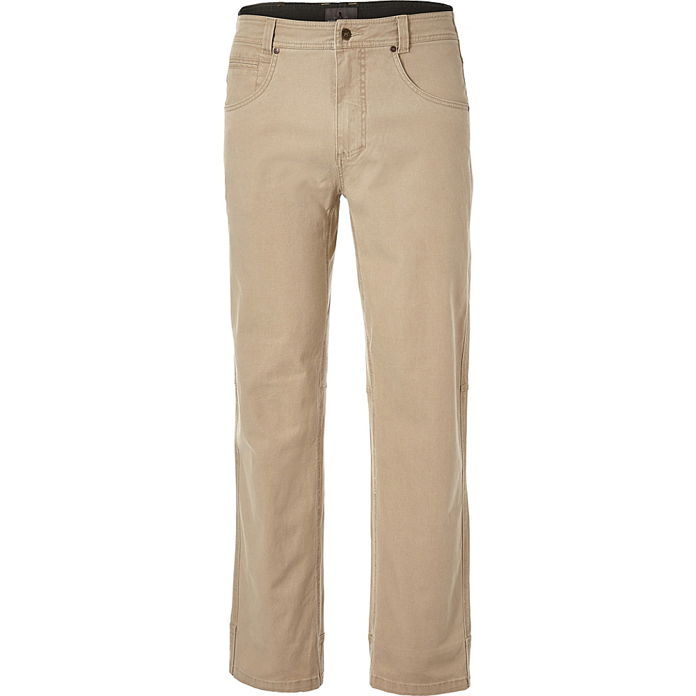 Royal Robbins Mens Billy Goat Stretch Boulder Pant 36 - 34in - Khaki - Royal Robbins Mens Apparel - Apparel & Footwear, Men's Apparel