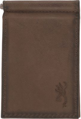 Browning Passport Money Clip Wallet Brown - Browning Travel Wallets
