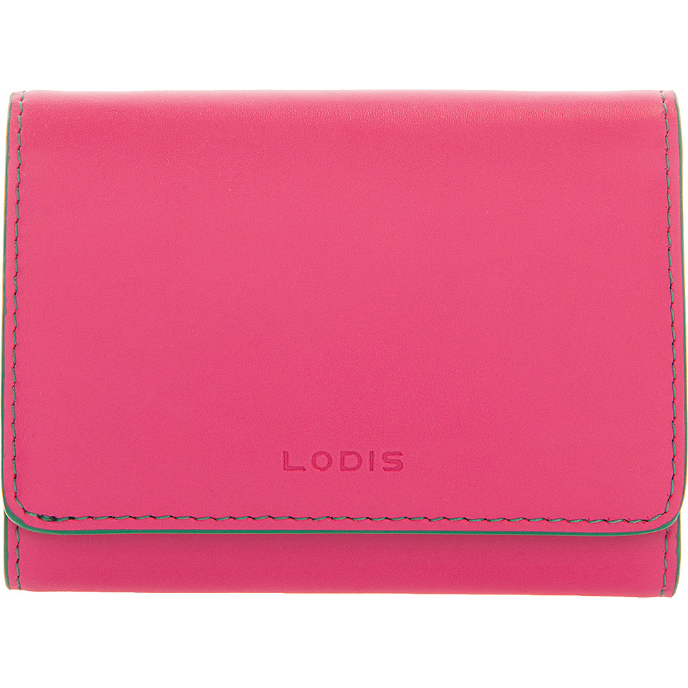 Lodis Audrey Mallory French Wallet - Discontinued Colors Azalea/Green - Lodis Womens SLG Other - Women's SLG, Women's SLG Other