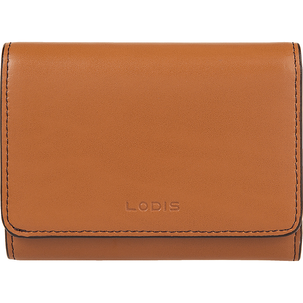Lodis Audrey Mallory French Wallet - Discontinued Colors Toffee - Lodis Womens Wallets - Women's SLG, Women's Wallets