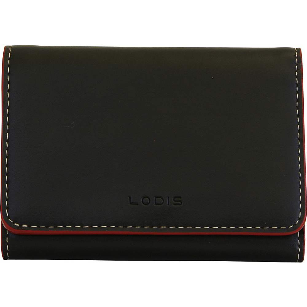 Lodis Audrey Mallory French Wallet - Discontinued Colors Black - Lodis Womens Wallets - Women's SLG, Women's Wallets