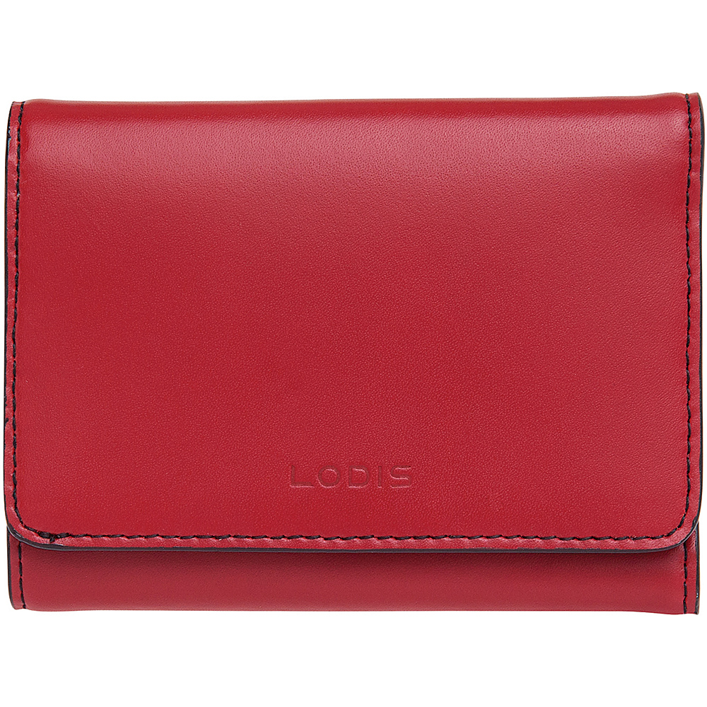 Lodis Audrey Mallory French Wallet - Discontinued Colors Red - Lodis Womens Wallets - Women's SLG, Women's Wallets