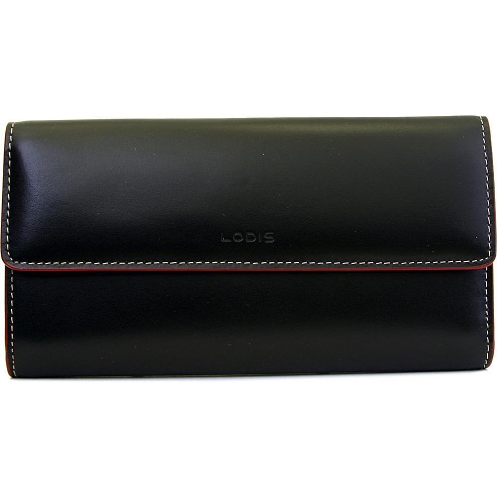 Lodis Audrey Checkbook Clutch Wallet - Black - Women's SLG, Women's Wallets