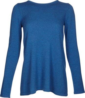 Kinross Cashmere Mixed Yarn Pullover S - Chamonix - Kinross Cashmere Women's Apparel