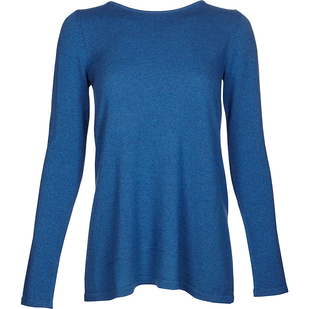 Kinross Cashmere Mixed Yarn Pullover S - Chamonix - Kinross Cashmere Womens Apparel - Apparel & Footwear, Women's Apparel