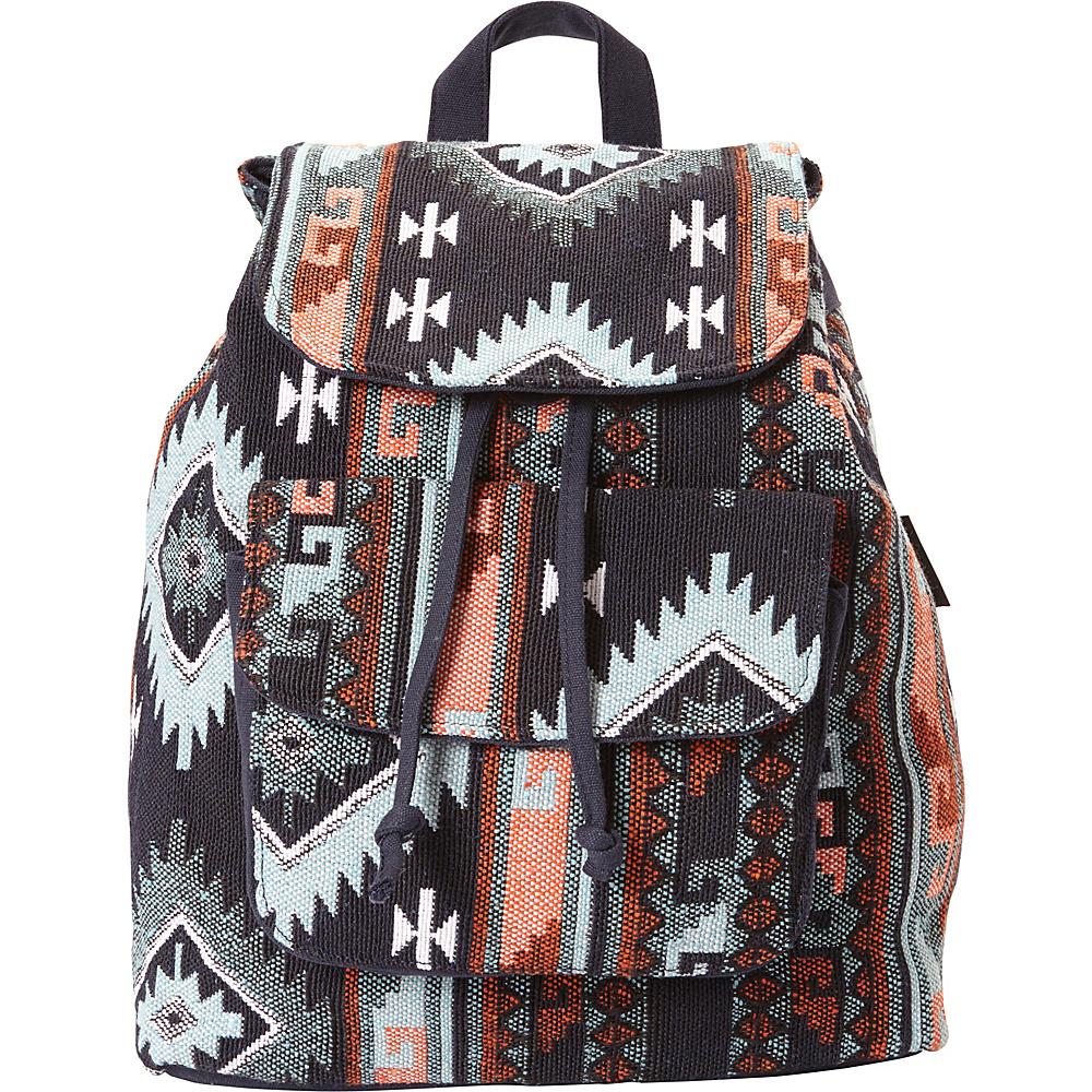 Sun N Sand Catori Neha Backpack Black Multi - Sun N Sand Fabric Handbags - Handbags, Fabric Handbags