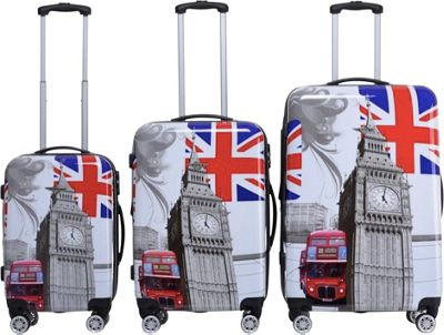 Rivolite Big Ben 3 Piece Expandable Hardside Spinner Luggage Set Big Ben - Rivolite Luggage Sets