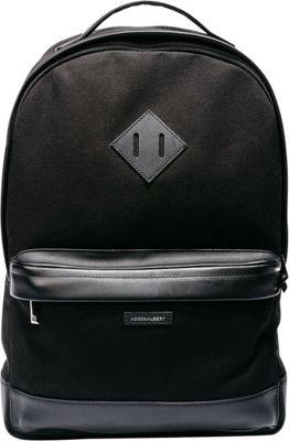 Hook & Albert Fabric Backpack Black - Hook & Albert Business & Laptop Backpacks