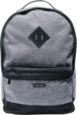Hook & Albert Fabric Backpack Gray - Hook & Albert Business & Laptop Backpacks