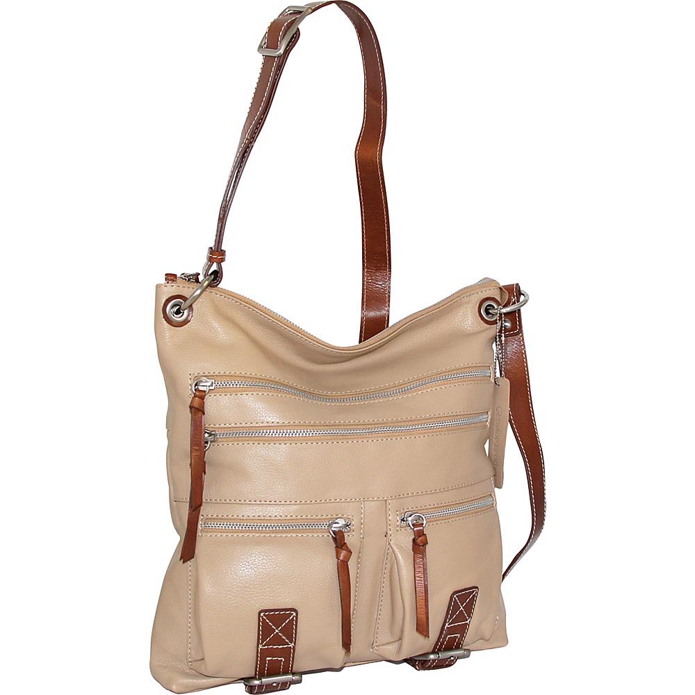 Nino Bossi My My Honey Pie Crossbody Sand - Nino Bossi Leather Handbags - Handbags, Leather Handbags
