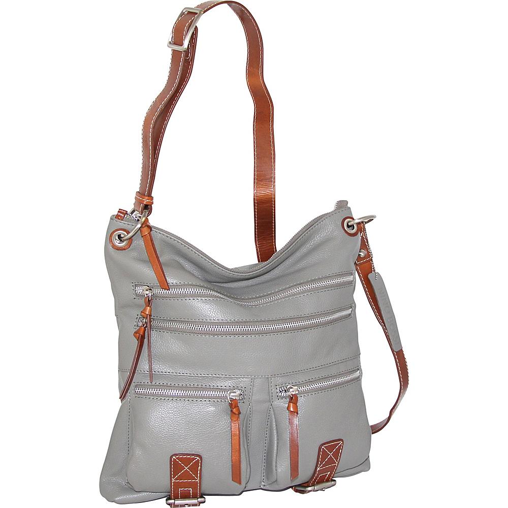 Nino Bossi My My Honey Pie Crossbody Stone - Nino Bossi Leather Handbags - Handbags, Leather Handbags