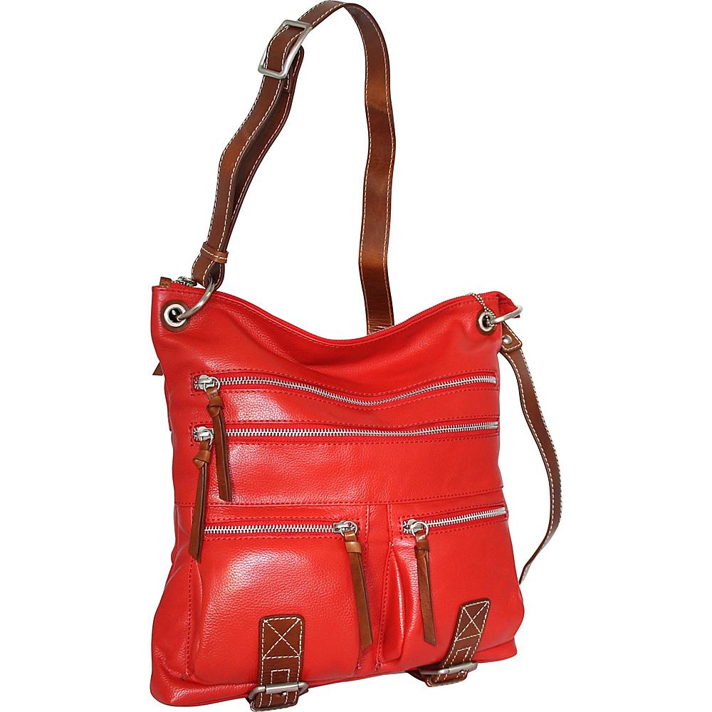 Nino Bossi My My Honey Pie Crossbody Tomato - Nino Bossi Leather Handbags - Handbags, Leather Handbags
