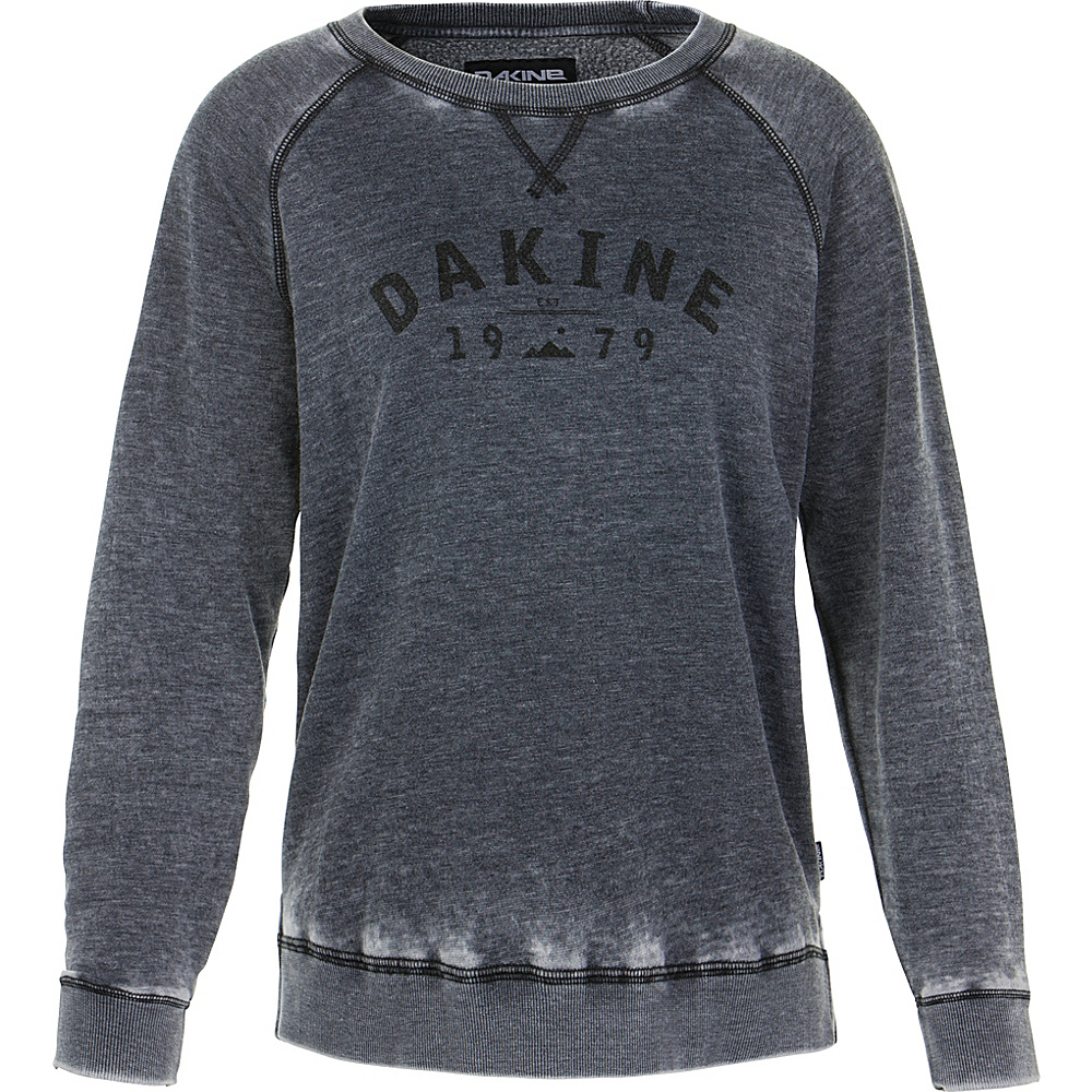 DAKINE Womens Constance Crew Neck Fleece L - Black - DAKINE Womens Apparel - Apparel & Footwear, Women's Apparel