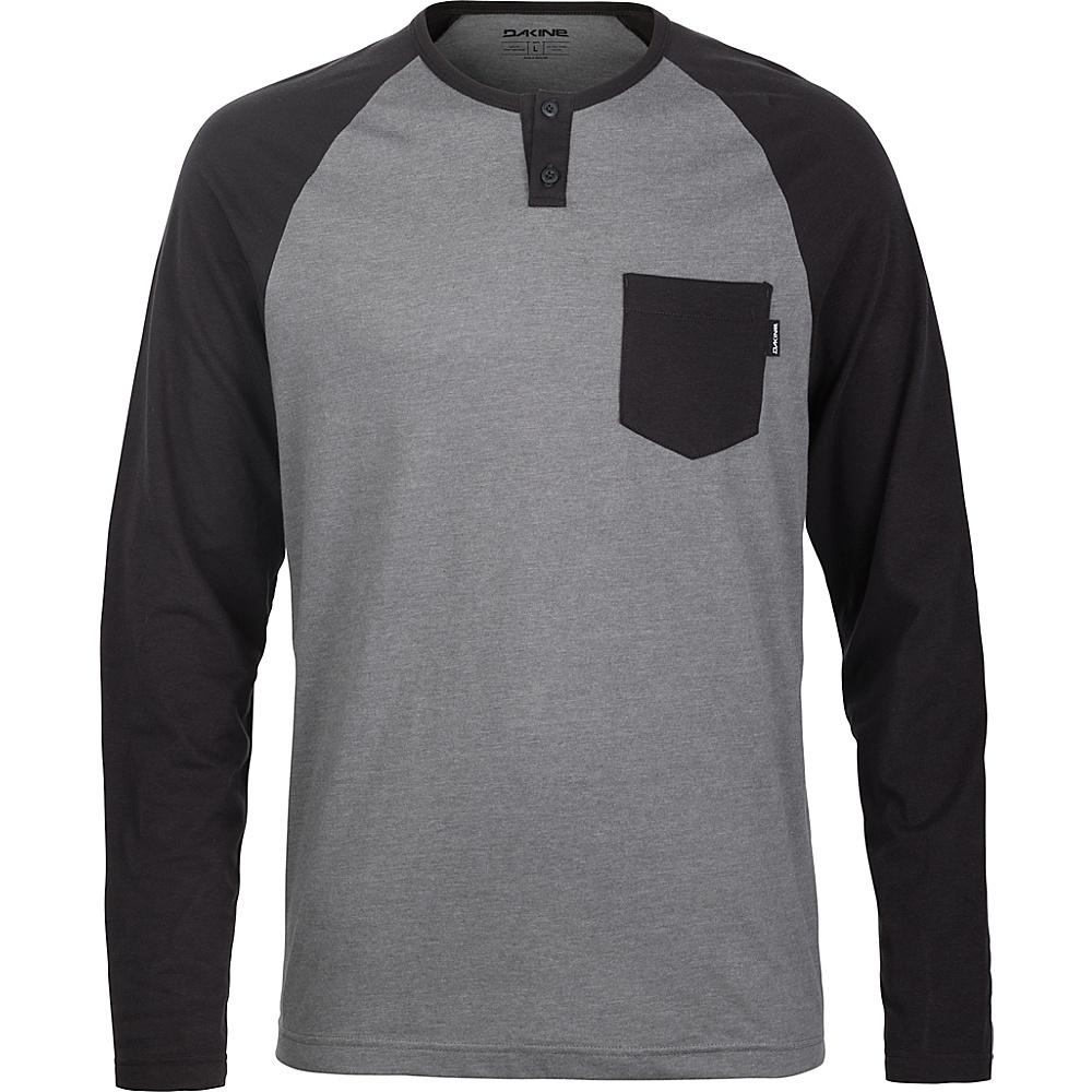 DAKINE Mens Phoenix Long Sleeve Henley Shirt XL - Castlerock - DAKINE Mens Apparel - Apparel & Footwear, Men's Apparel