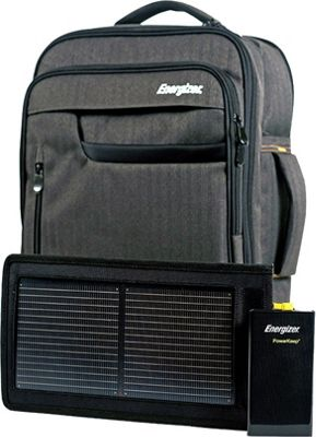 Energizer PowerKeep Solar Pro Executive Pack Solar 10000MA Battery Black - Energizer Business & Laptop Backpacks