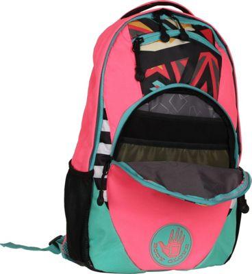 BODY GLOVE Long Lat Fenley Laptop Backpack Pink - BODY GLOVE Long Lat Business & Laptop Backpacks