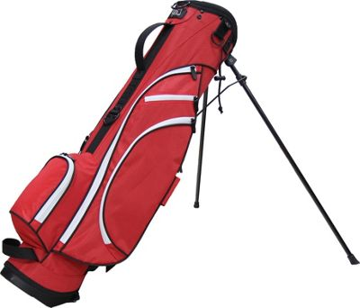 "RJ Golf 6"""" Mini Golf Stand Bag Red/Black - RJ Golf Golf Bags"