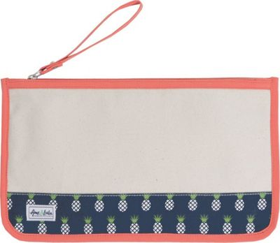 Ame & Lulu Stay Dry Swimsuit Bag Natural Pineapple - Ame & Lulu Packable Bags