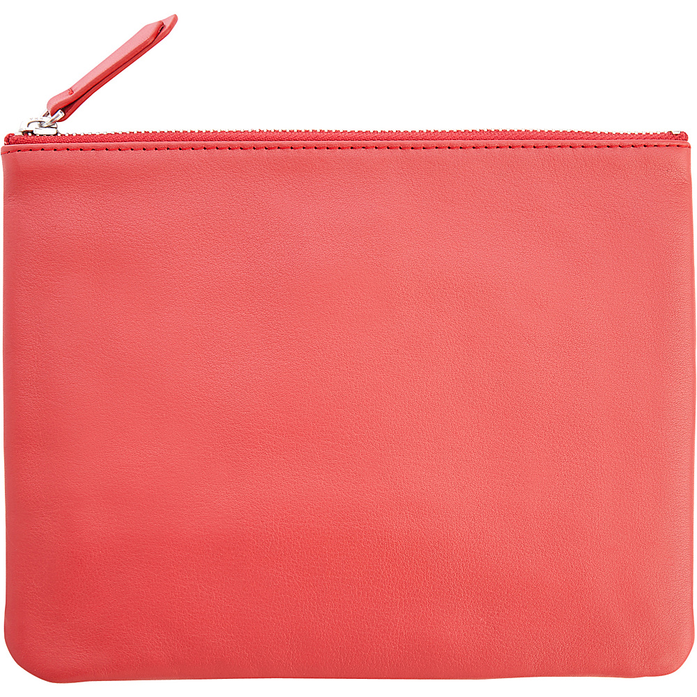 Royce Leather Small Travel Pouch Red - Royce Leather Womens SLG Other - Women's SLG, Women's SLG Other