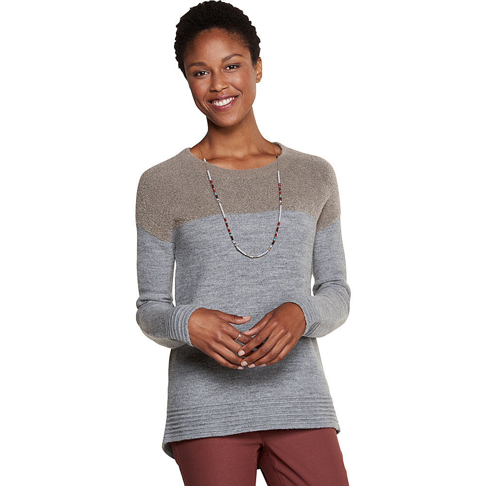 Toad & Co Kaya Crew Sweater M - Cocoa - Toad & Co Womens Apparel - Apparel & Footwear, Women's Apparel