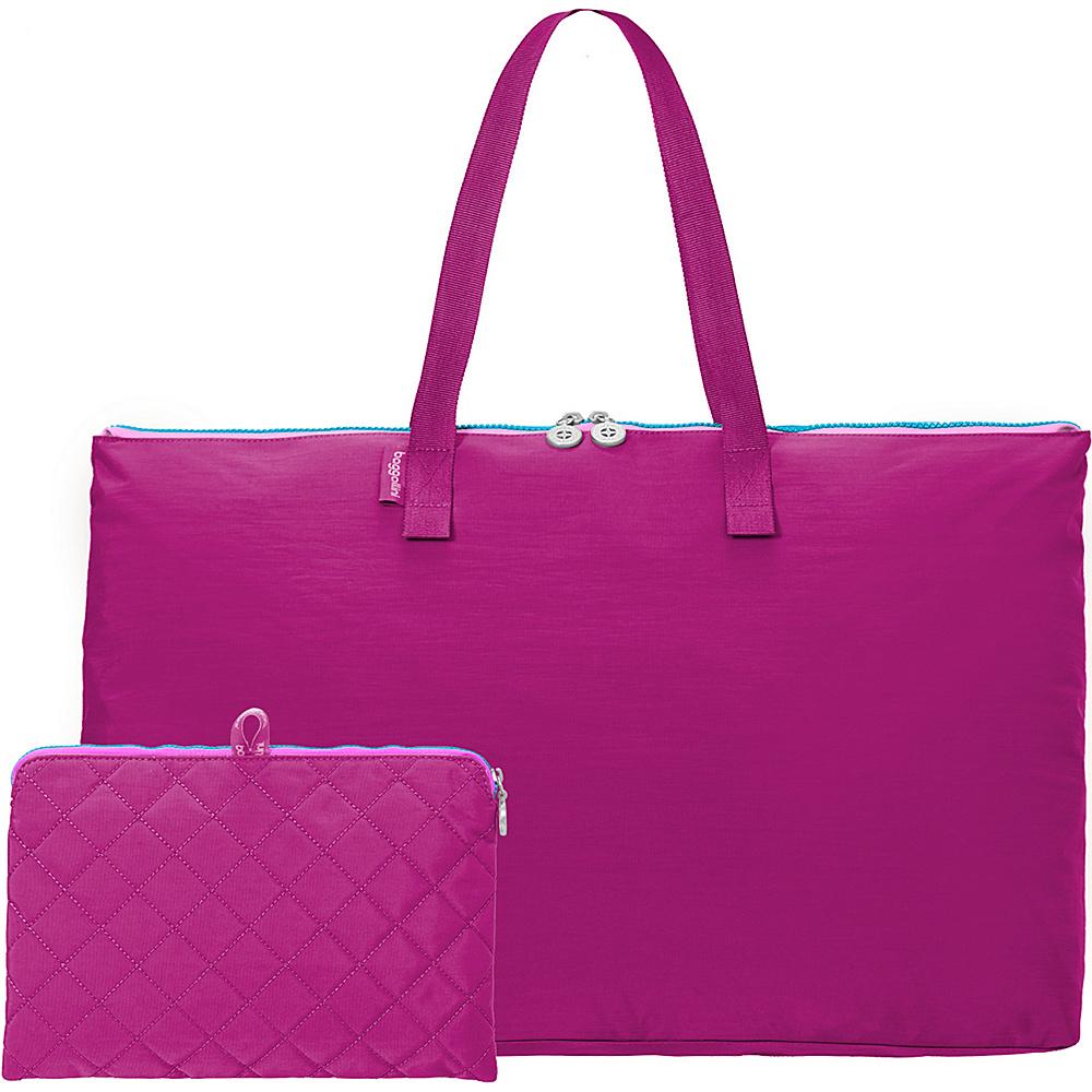 baggallini Foldable Travel Tote Fuchsia/Pink - baggallini Packable Bags - Travel Accessories, Packable Bags