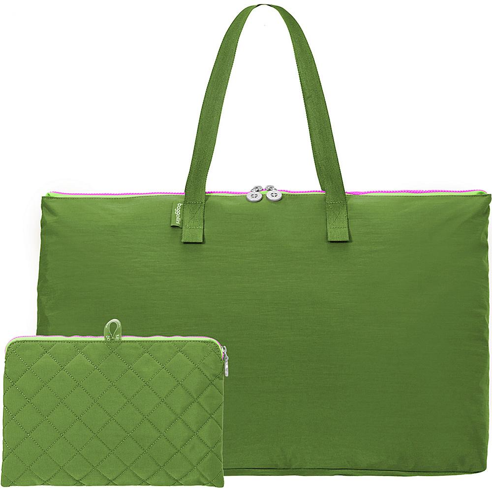 baggallini Foldable Travel Tote Green/Kiwi - baggallini Packable Bags - Travel Accessories, Packable Bags