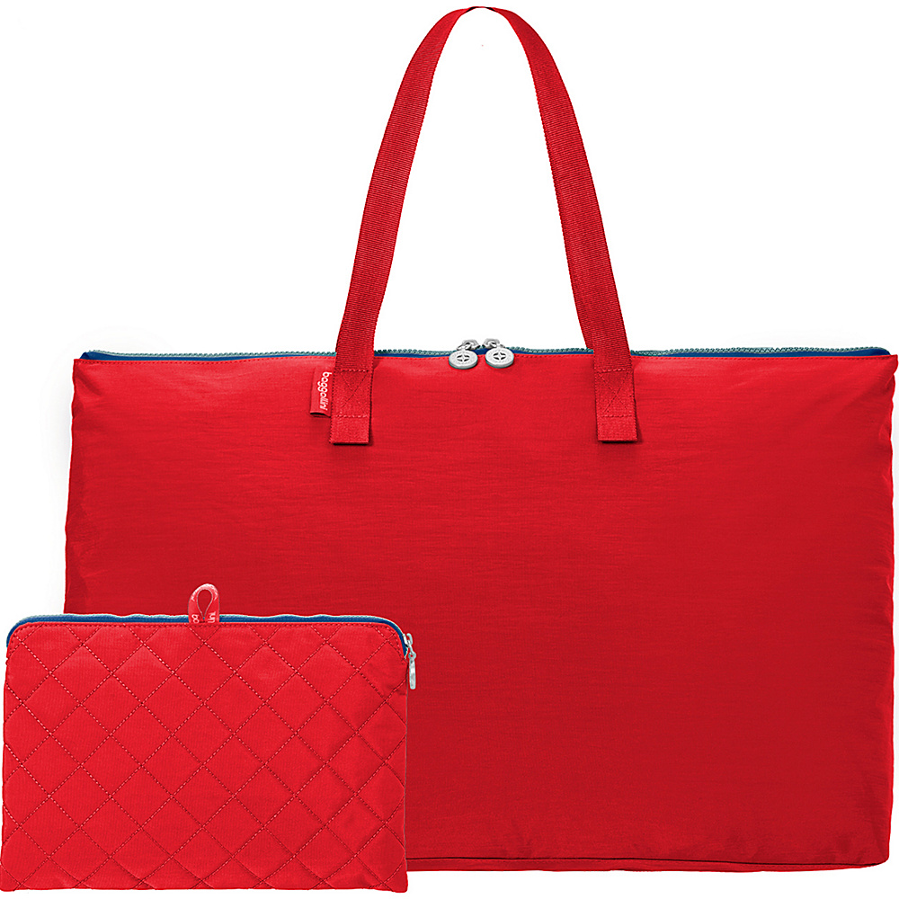 baggallini Foldable Travel Tote Red/Navy - baggallini Packable Bags - Travel Accessories, Packable Bags