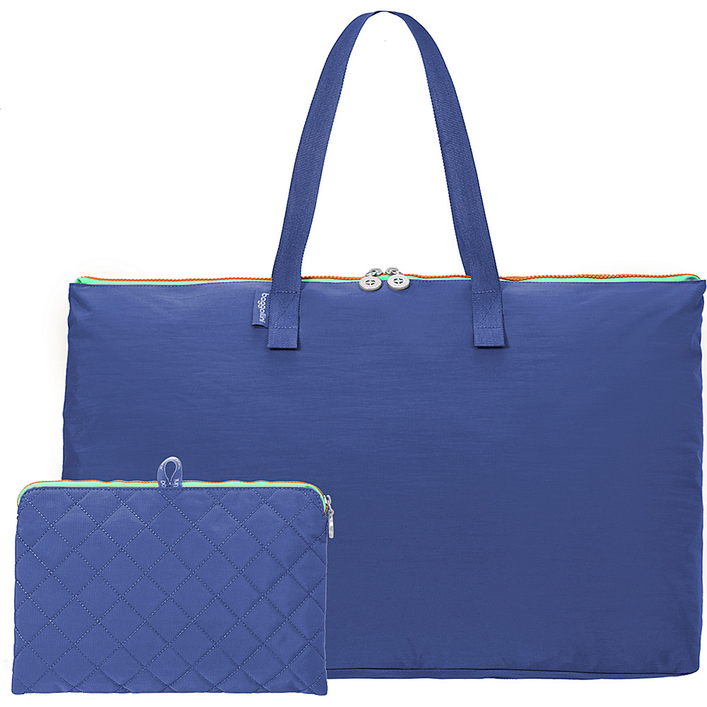 baggallini Foldable Travel Tote Royal Blue/Mint - baggallini Packable Bags - Travel Accessories, Packable Bags