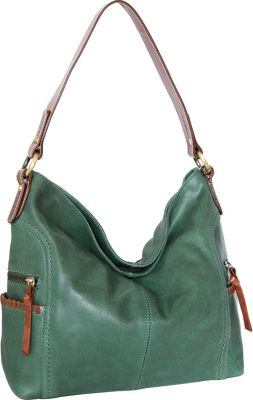 Nino Bossi Flora Hobo Moss - Nino Bossi Leather Handbags