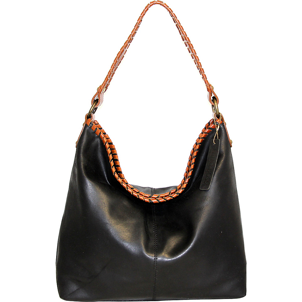 Nino Bossi Izzie Bucket Bag Black - Nino Bossi Leather Handbags - Handbags, Leather Handbags