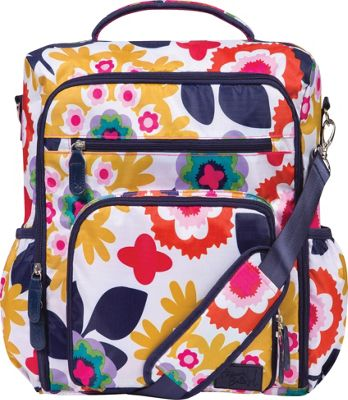 Trend Lab French Bull Convertible Backpack Diaper Bag Sus Multi - Trend Lab Diaper Bags & Accessories