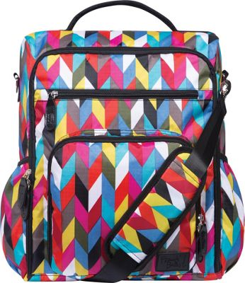 Trend Lab French Bull Convertible Backpack Diaper Bag Ziggy Multi - Trend Lab Diaper Bags & Accessories
