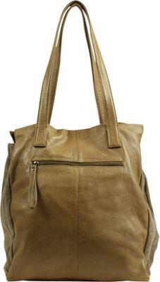 Day & Mood Maple Shopper Pale Khaki - Day & Mood Leather Handbags