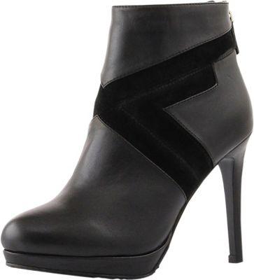 Elaine Turner Designs Cheyenne Heeled Bootie 9.5 - Black ...
