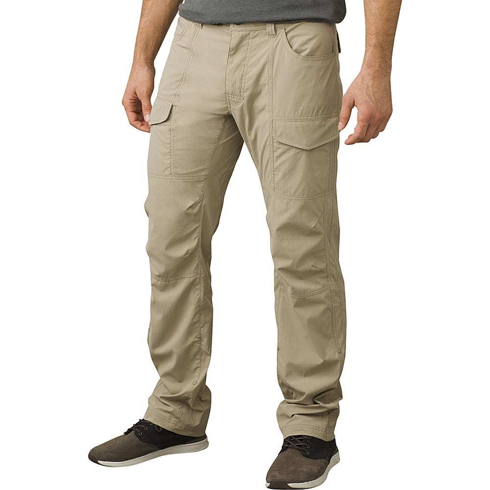 PrAna Broadfield Pant 34 Inseam 36 - Dark Khaki - PrAna Mens Apparel - Apparel & Footwear, Men's Apparel