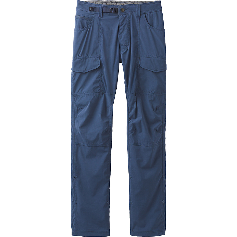 PrAna Broadfield Pant 34 Inseam 30 - Equinox Blue - PrAna Mens Apparel - Apparel & Footwear, Men's Apparel