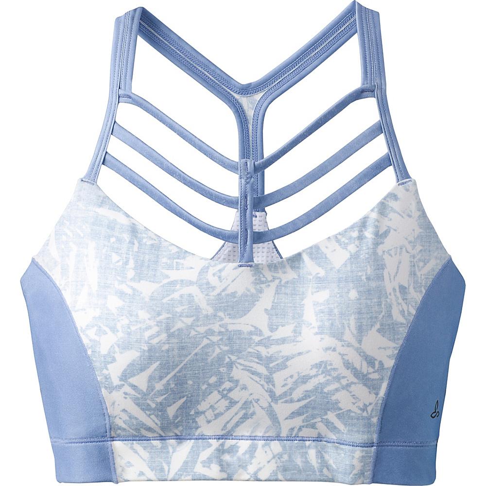 PrAna Riestling Bra S - Blue Pacifica - PrAna Womens Apparel - Apparel & Footwear, Women's Apparel
