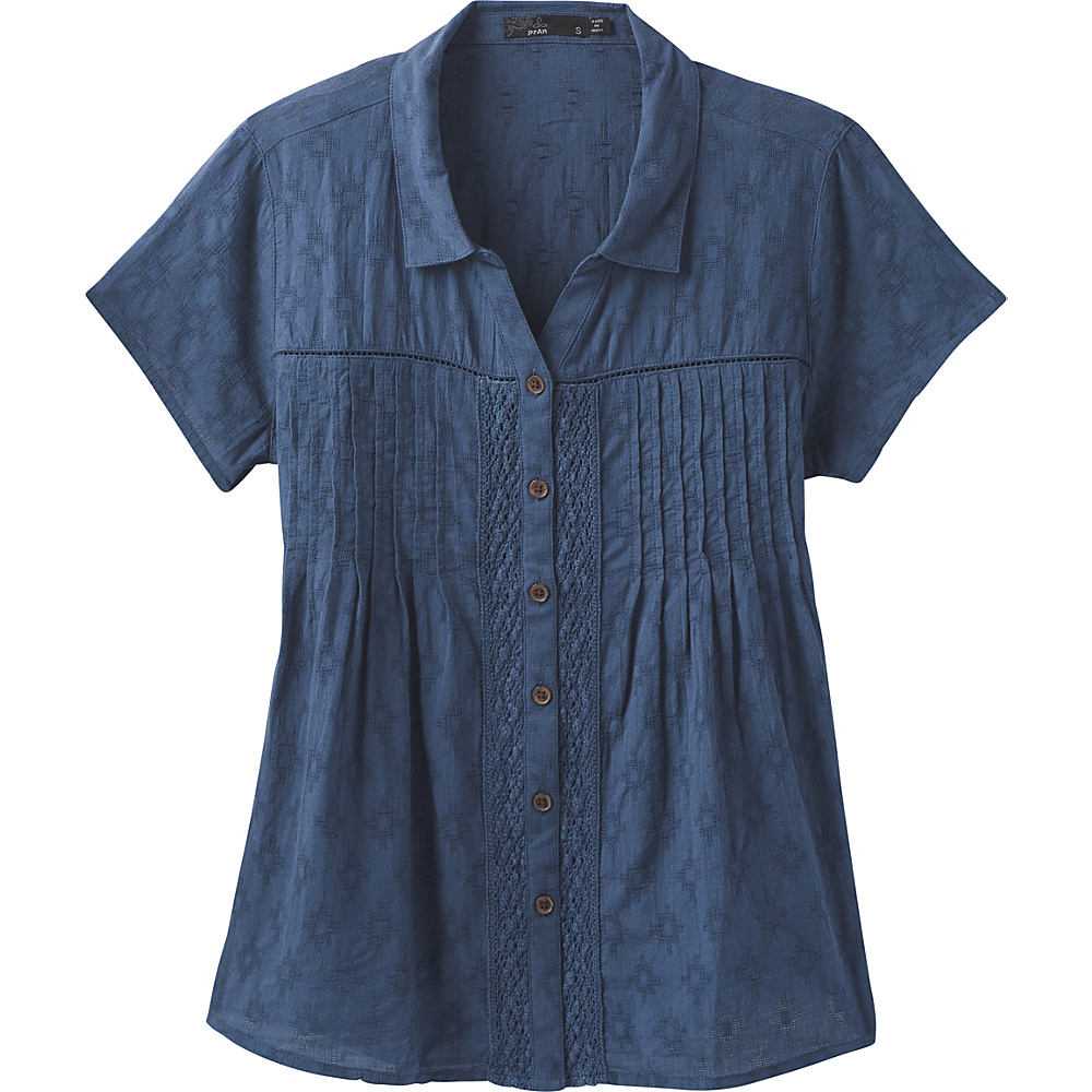 PrAna Katya Top S - Equinox Blue - PrAna Womens Apparel - Apparel & Footwear, Women's Apparel