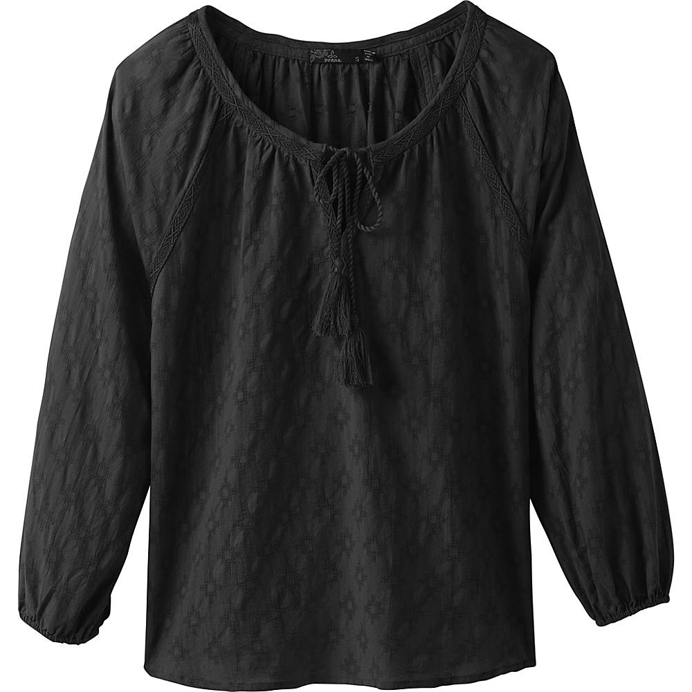 PrAna Verano Top L - Black - PrAna Womens Apparel - Apparel & Footwear, Women's Apparel