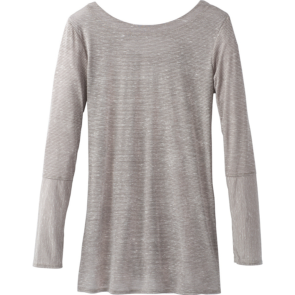 PrAna Esme Top L - Mud - PrAna Womens Apparel - Apparel & Footwear, Women's Apparel