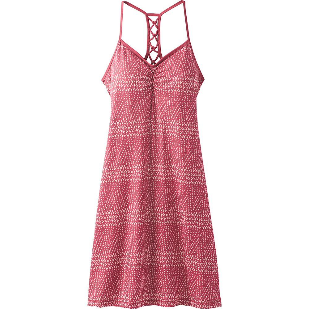 PrAna Elixir Dress XL - Crushed Cran Sumatra - PrAna Womens Apparel - Apparel & Footwear, Women's Apparel