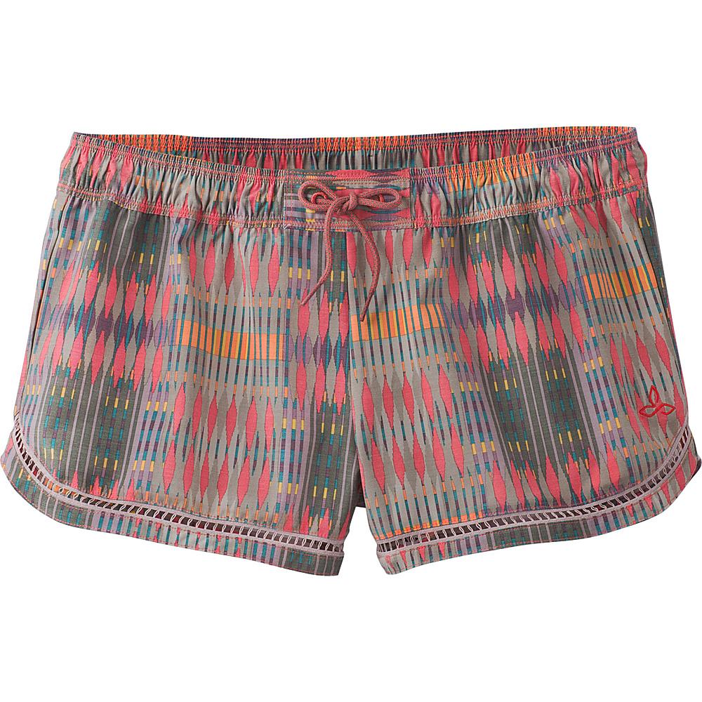 PrAna Mariya Short S - Carmine Desert Geo - PrAna Womens Apparel - Apparel & Footwear, Women's Apparel