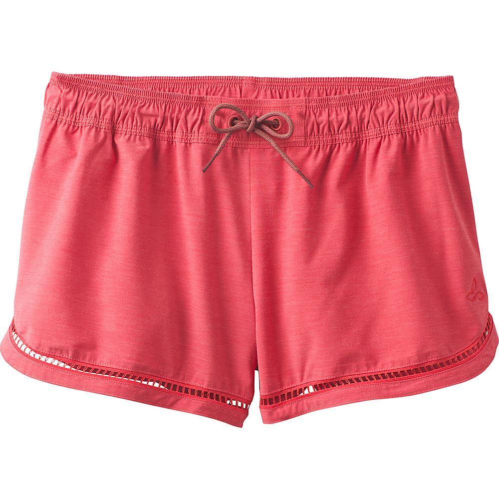 PrAna Mariya Short XS - Carmine Pink - PrAna Womens Apparel - Apparel & Footwear, Women's Apparel