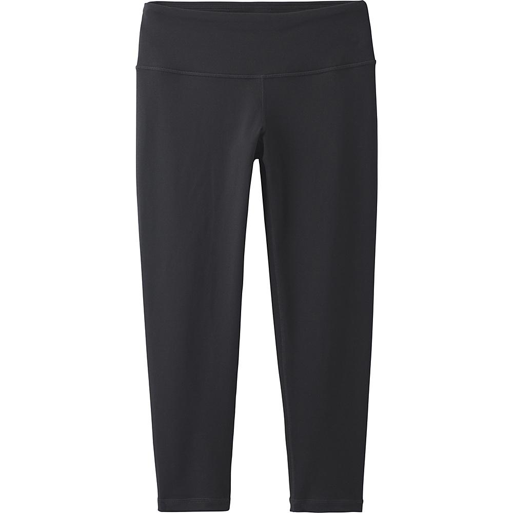 PrAna Pillar Capri XS - Black - PrAna Womens Apparel - Apparel & Footwear, Women's Apparel
